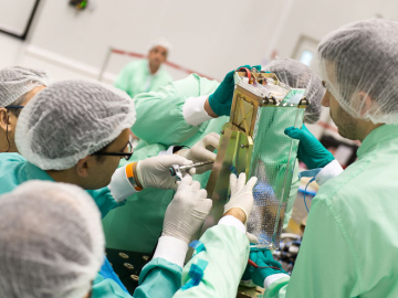 ESA Academy CubeSat Hands-on Training Week